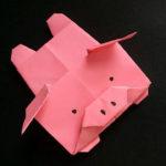 поросенок из бумаги идеи дизайн