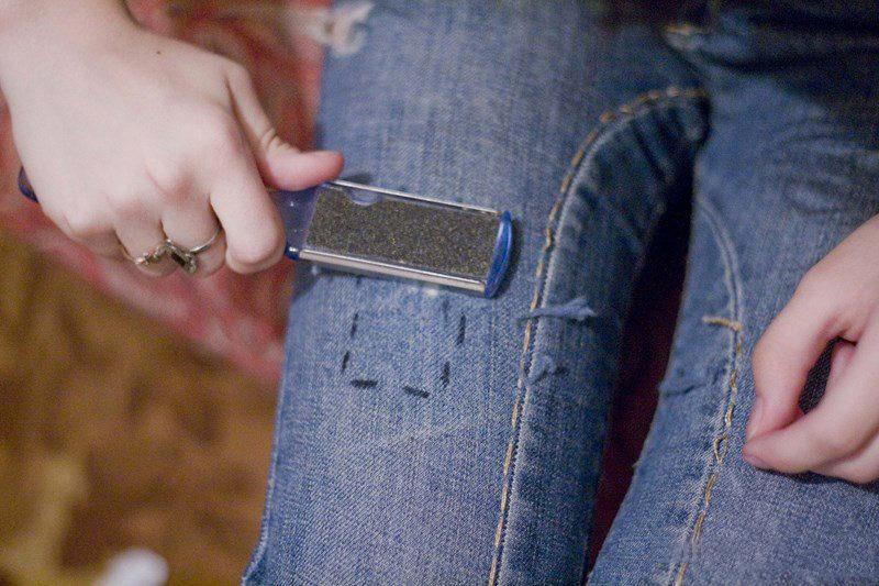 пемза для потертостей на джинсах
