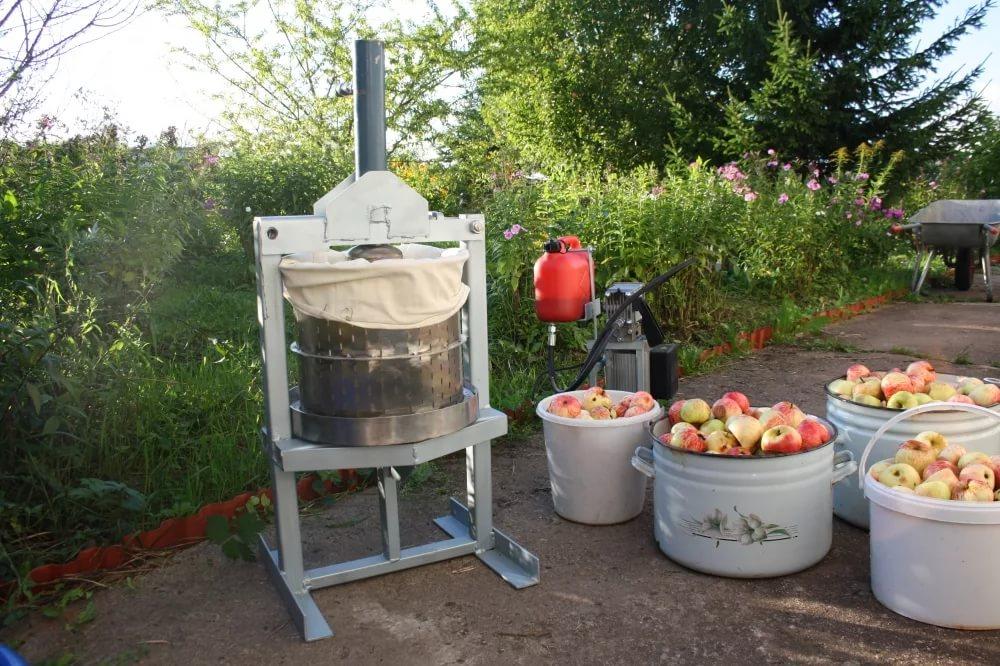 пресс для яблок гидравлический