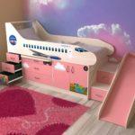 кровать для девочек-стюардесс
