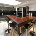 натуральная столешница для кухни