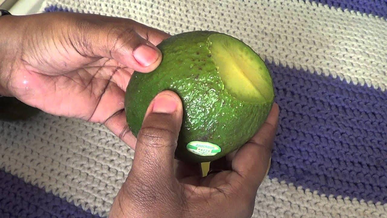 проверка авокадо на зрелость