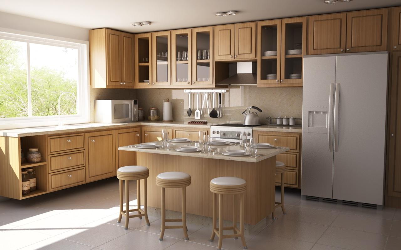 стандартный гарнитур для кухни