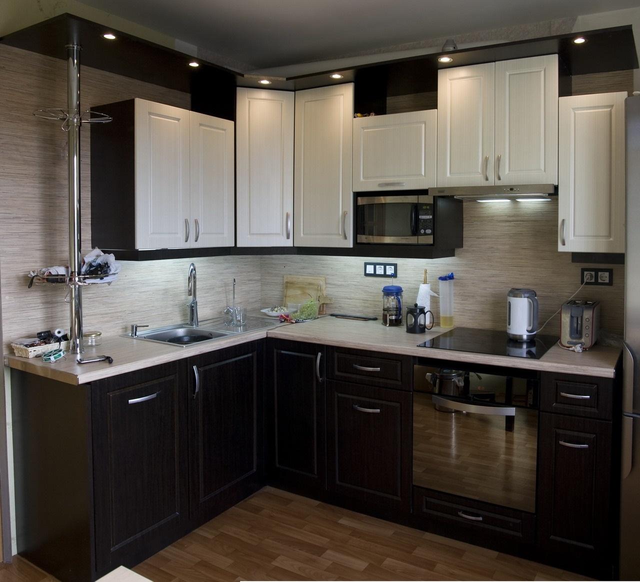 размещение объектов на кухне