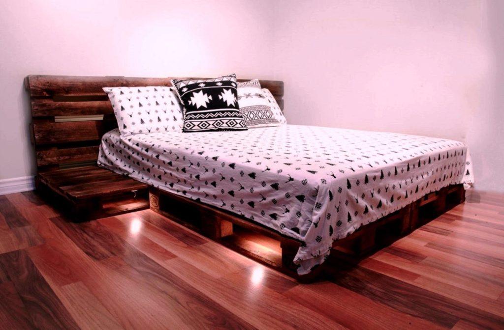 подсветку под кроватью