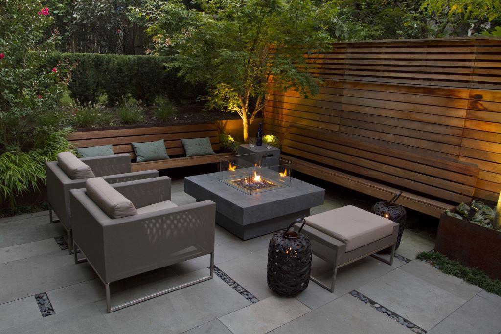 садовая мебель минимализм