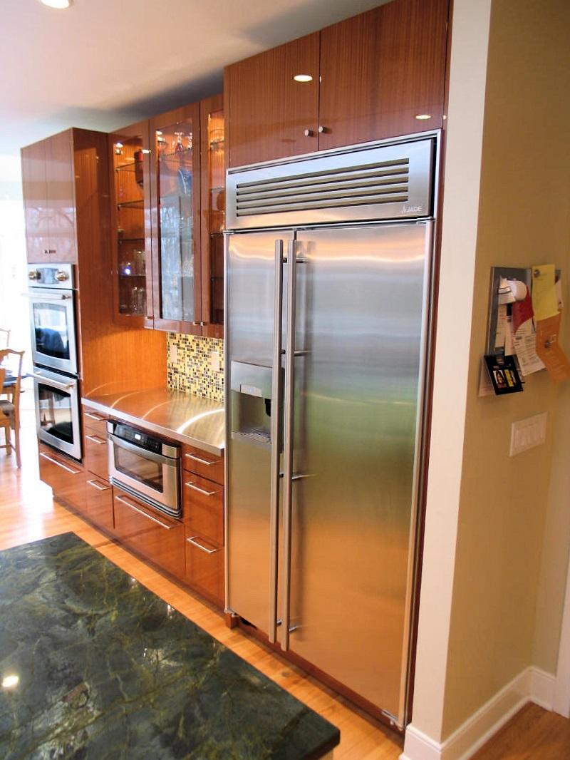 вентиляция встроенного холодильника