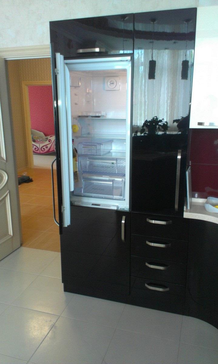 размеры холодильника для шкафа