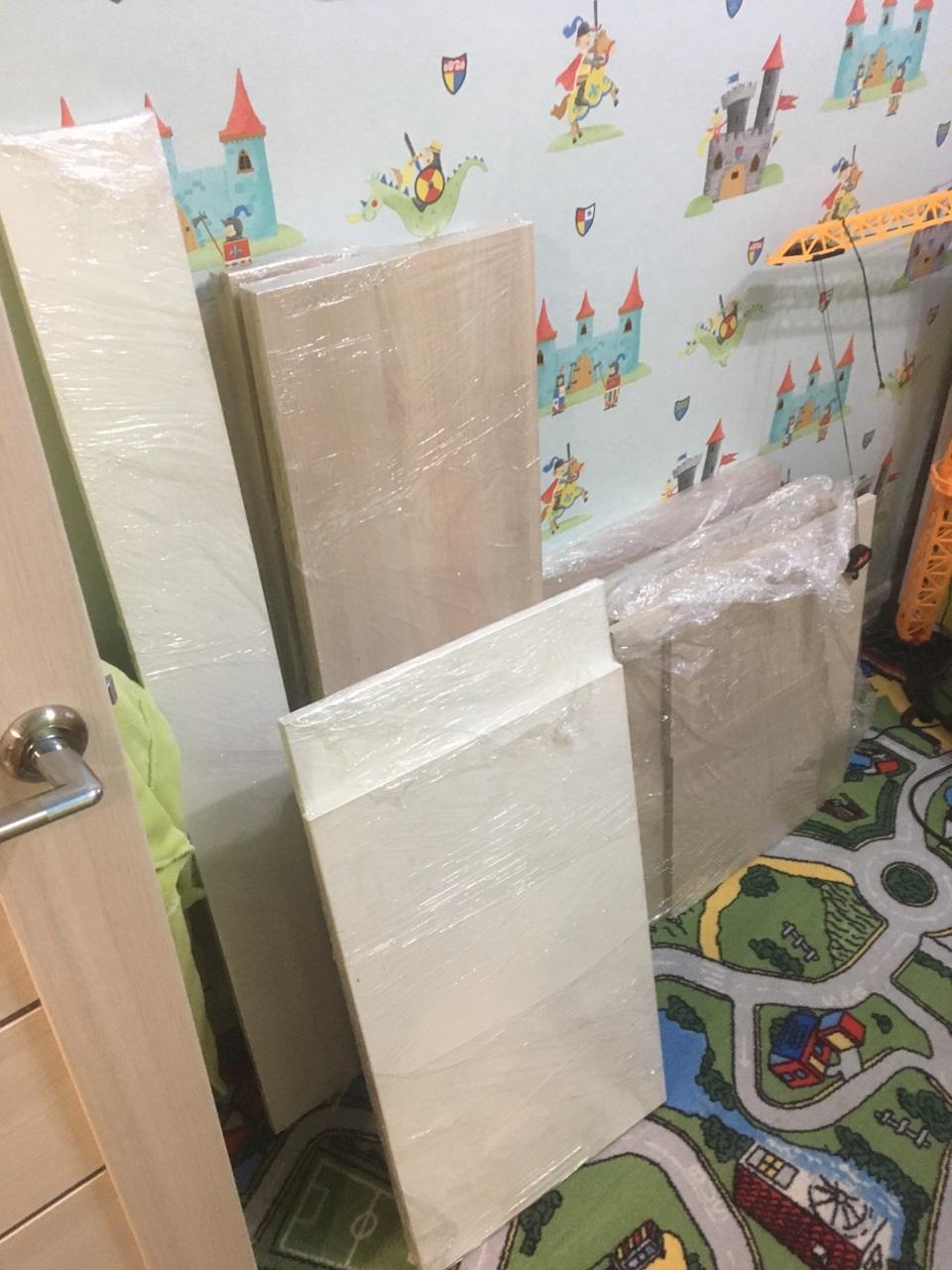 материалы для шкафа под холодильник