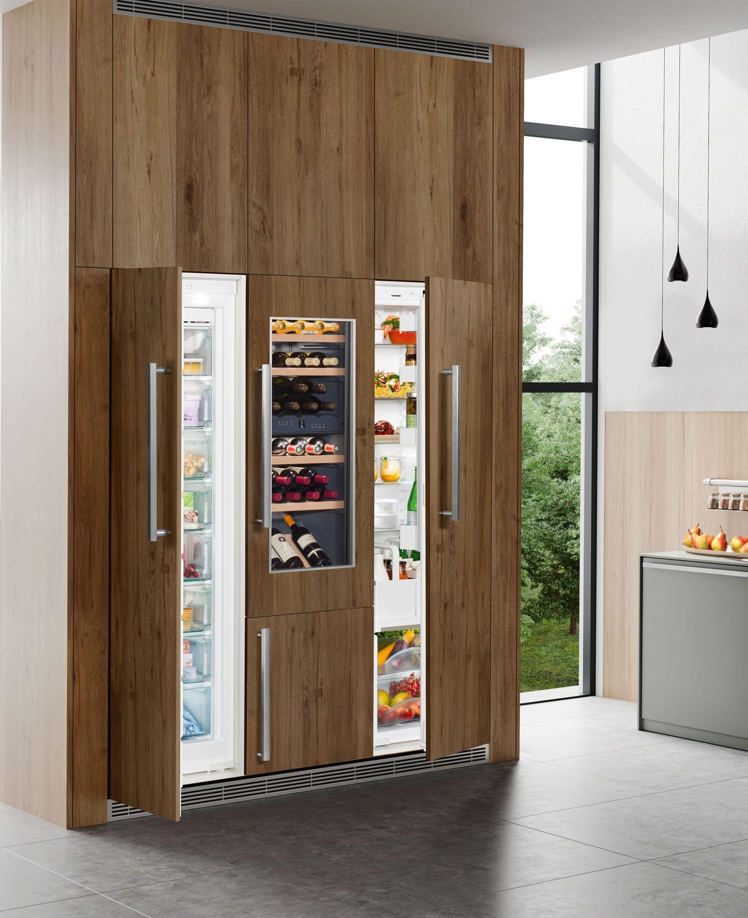 двери шкафа-холодильника