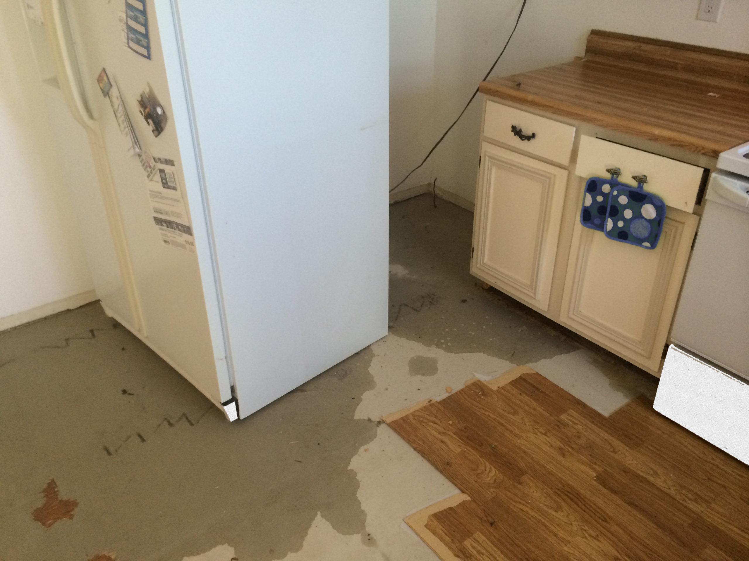 замеры участка под холодильник