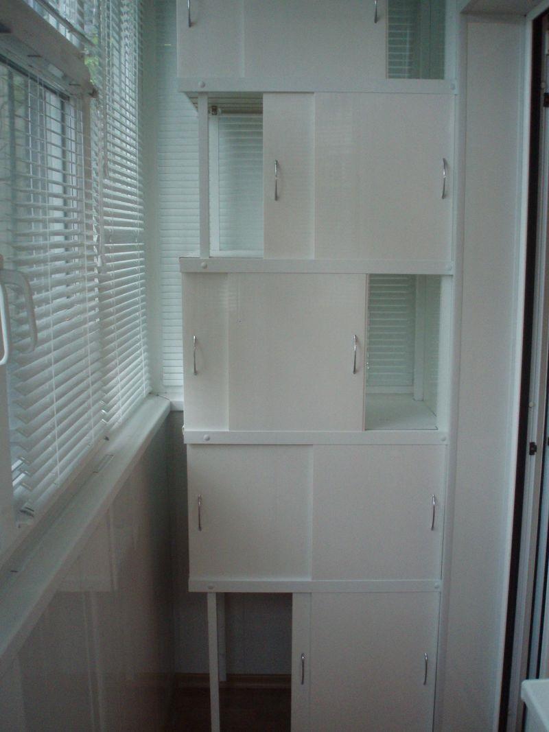 шкаф на балкон своими руками
