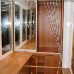 шкаф на балкон разобранный