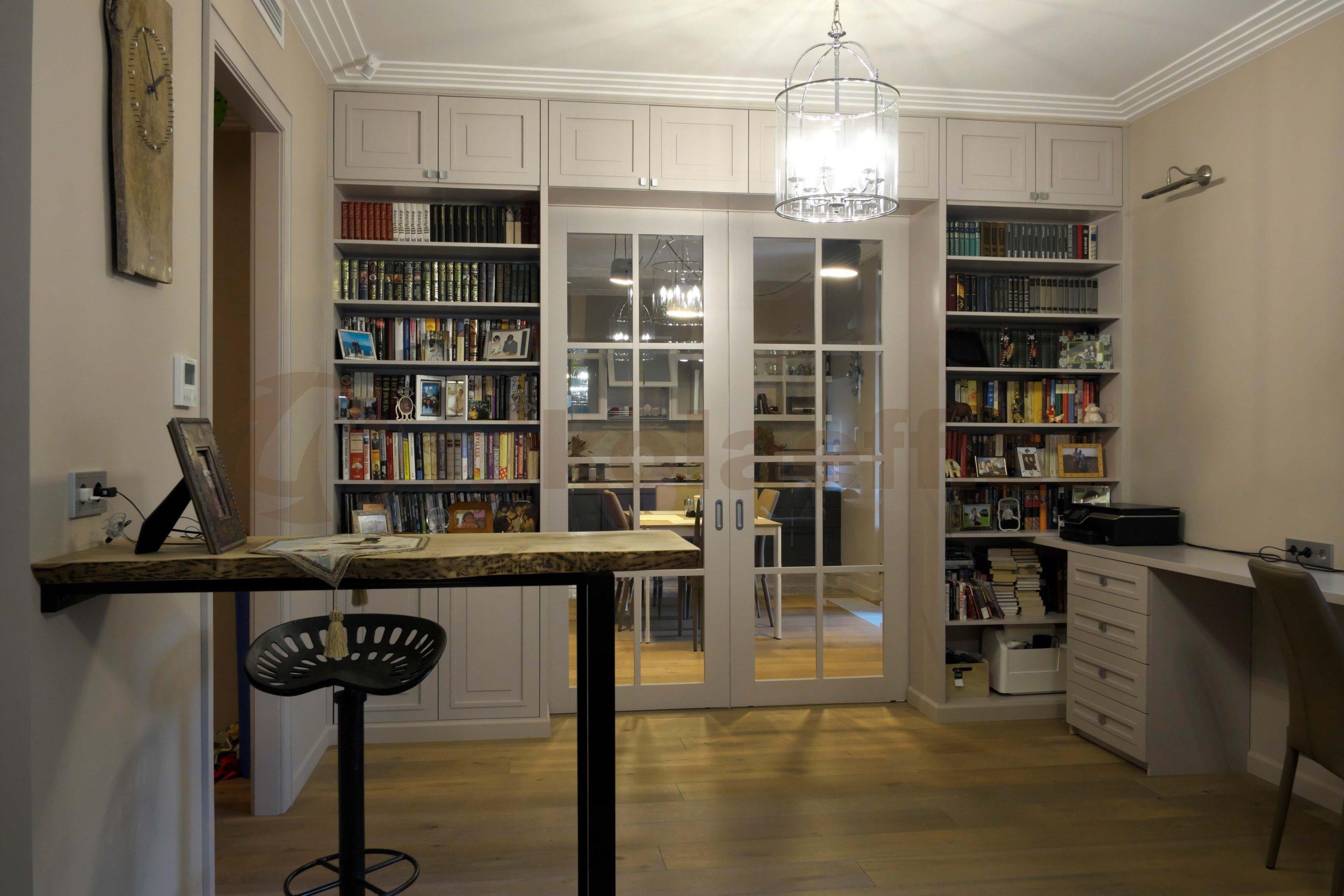 шкаф перегородка для книг