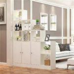 шкаф-перегородка белый лесенкой