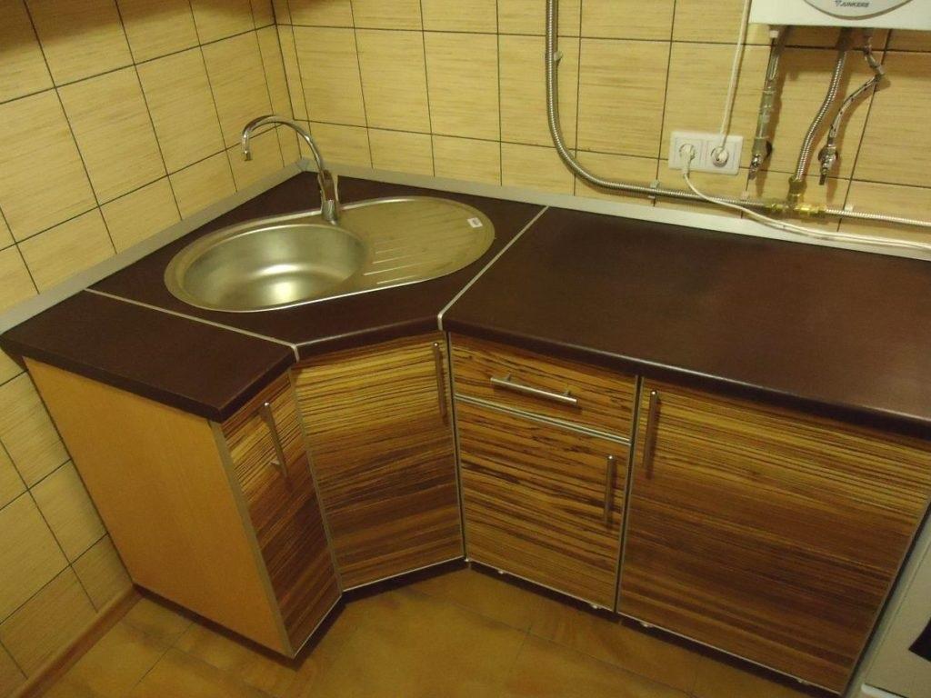 угловая мойка на кухню