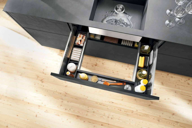 шкаф под мойку прямой удобный