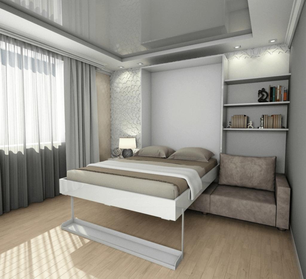 шкаф- кровать в собранном состоянии