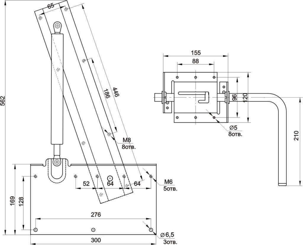 чертеж механизма