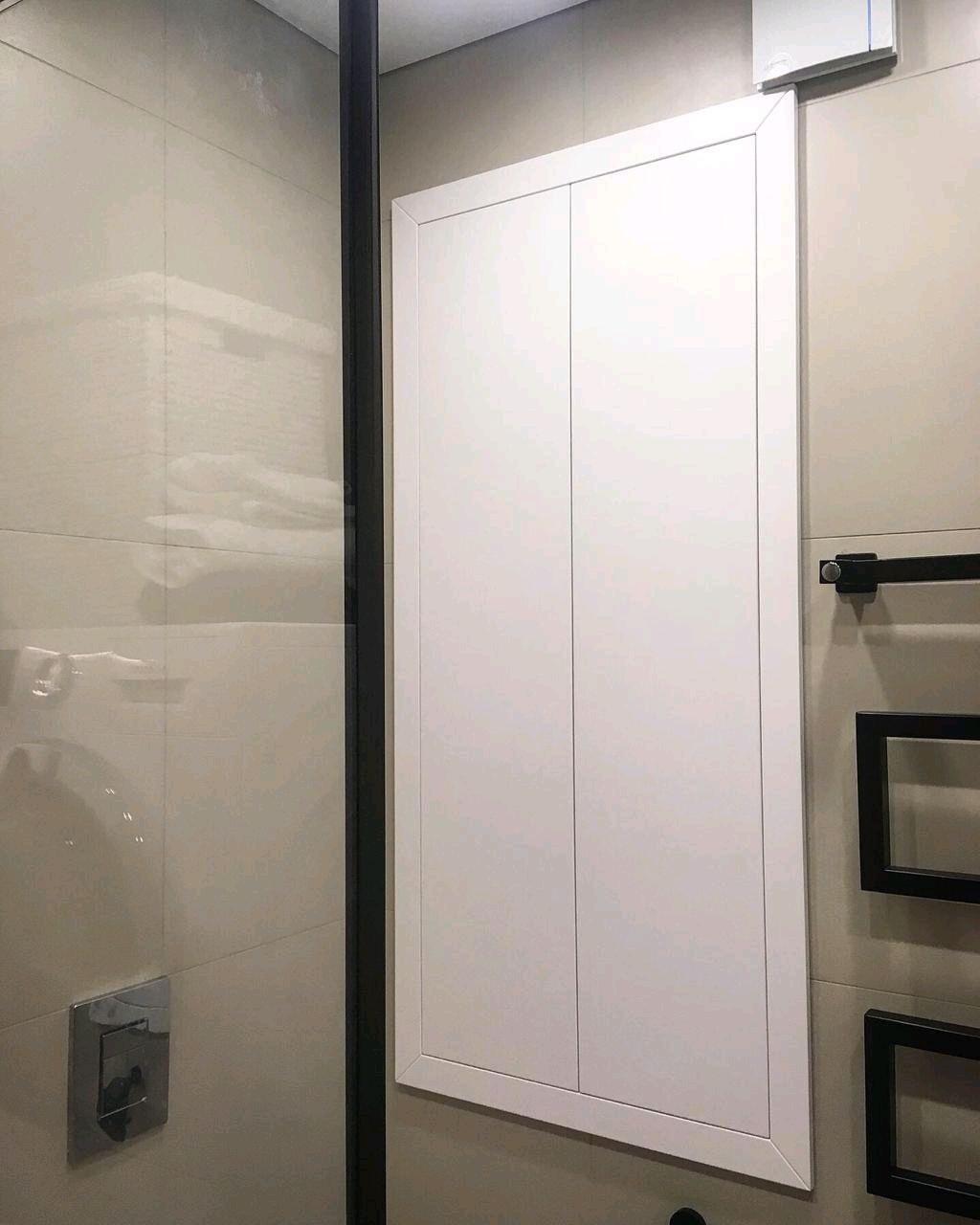 шкаф в туалет из пластика