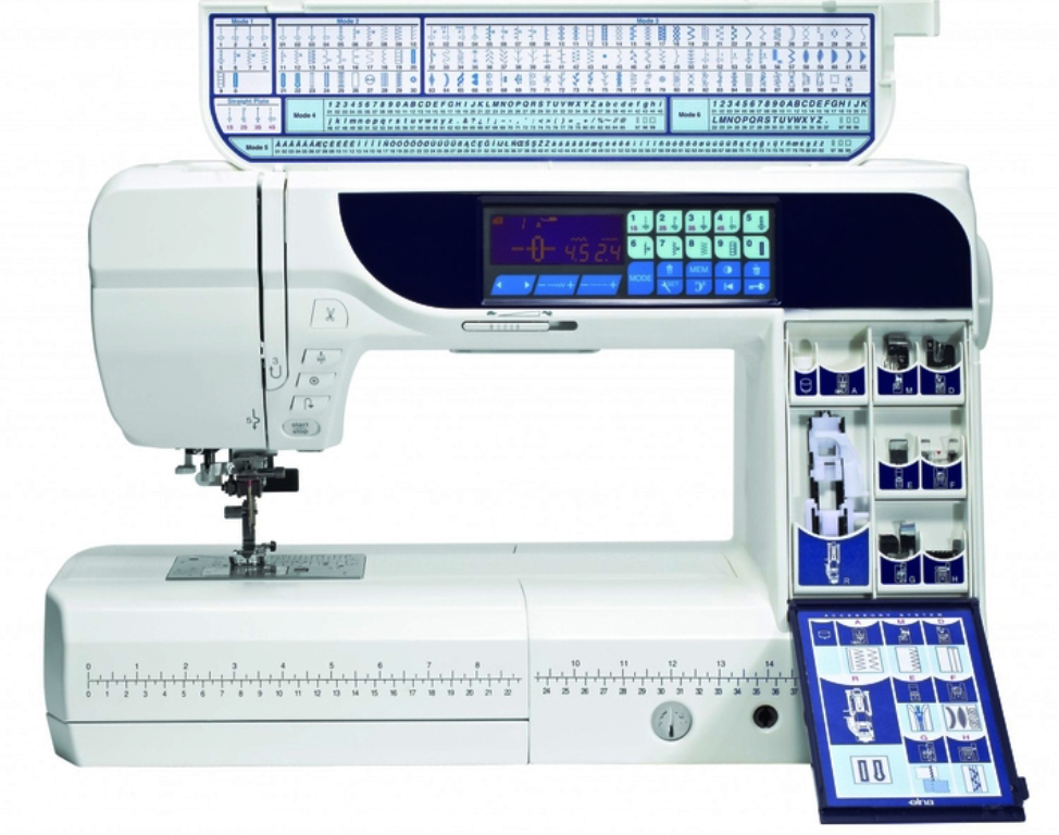 швейная машинка с компьютерным управлением варианты