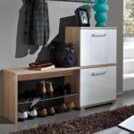 скамейка с местом для обуви