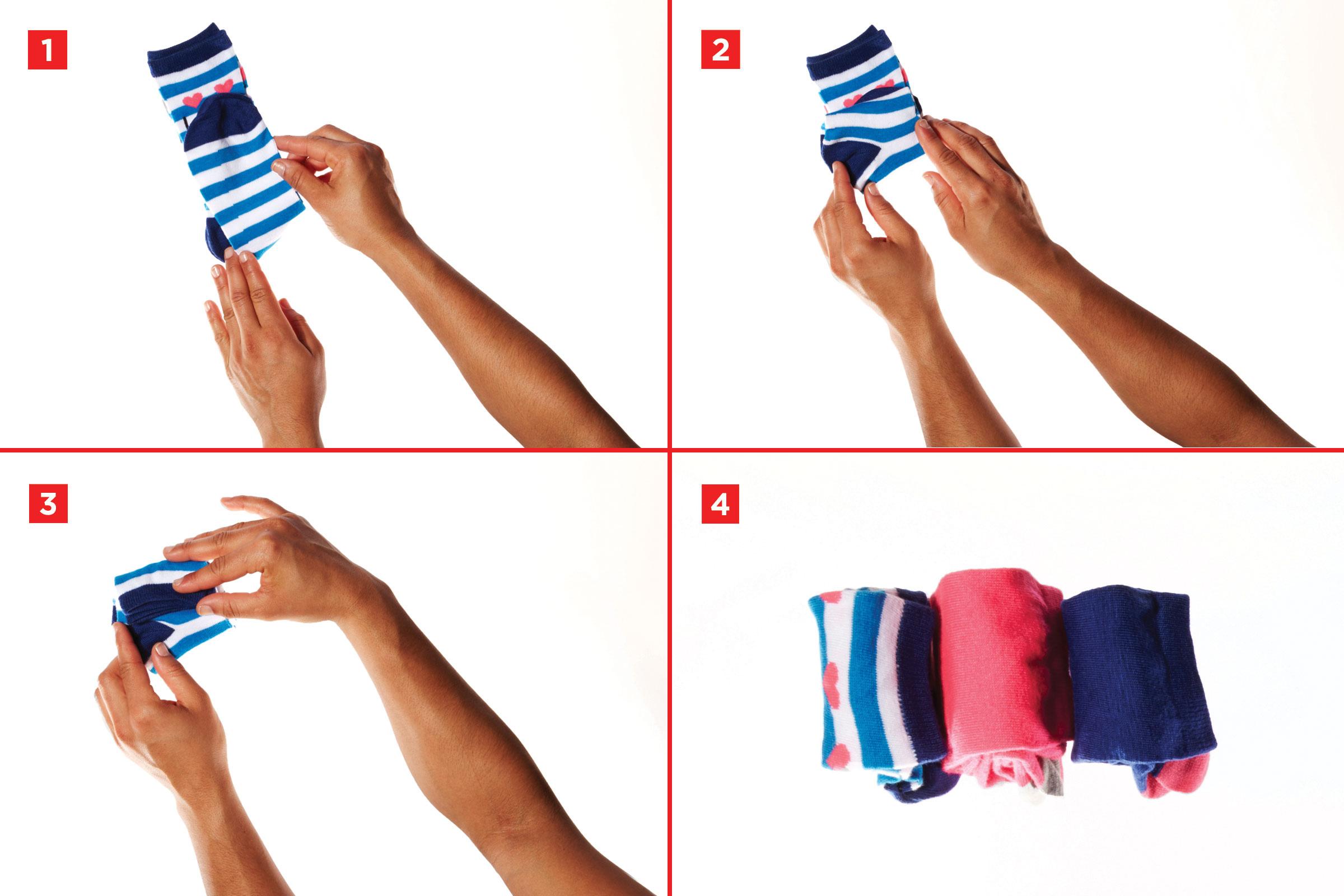 сложенные носки