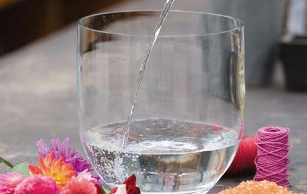 смена воды в вазе