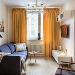 современный диван интерьер фото