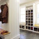 строенный шкаф для хранения обуви
