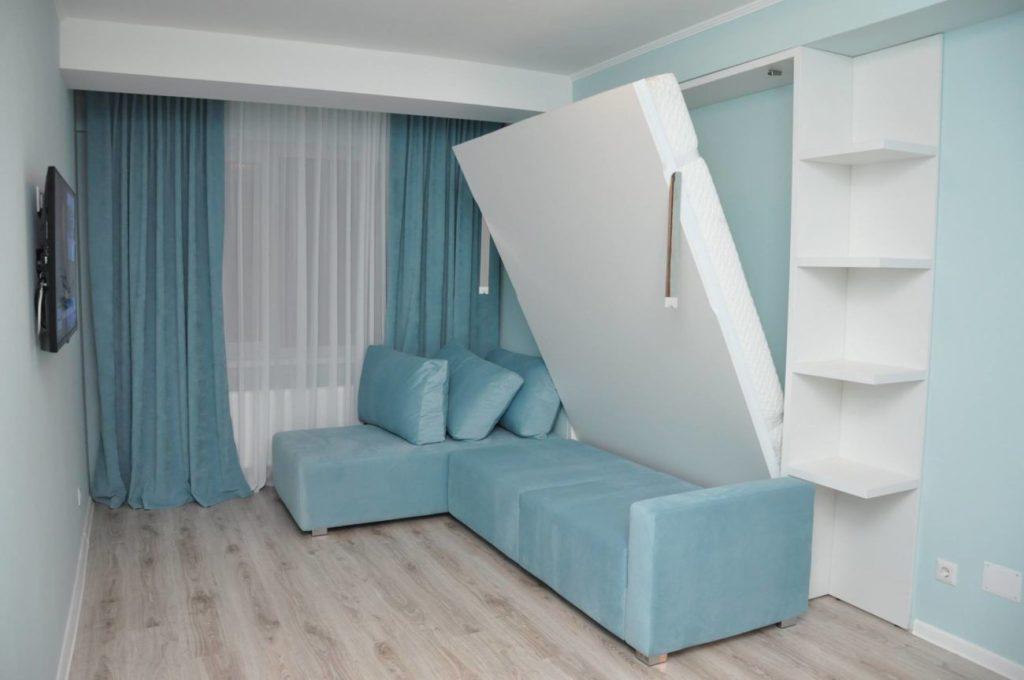 кровать в однушках