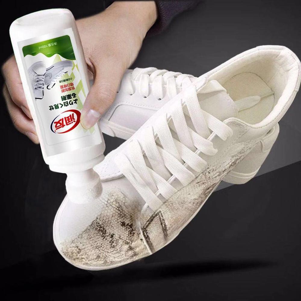 средства для чистки белых кед