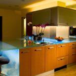 прозрачная столешница для кухни