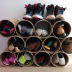 цилиндры для хранения обуви