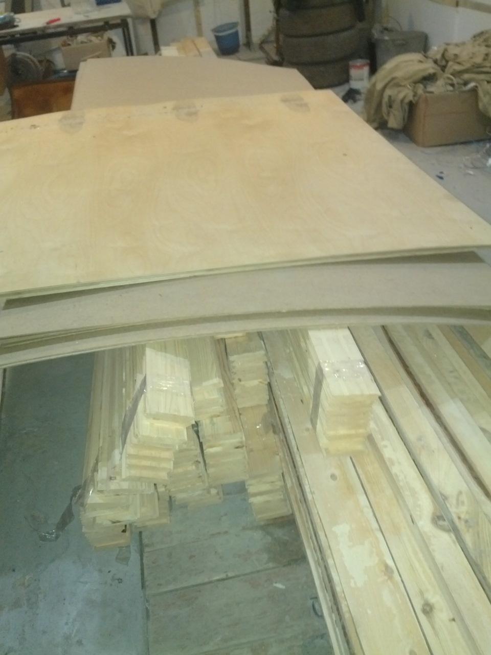 материалы для стеллажа
