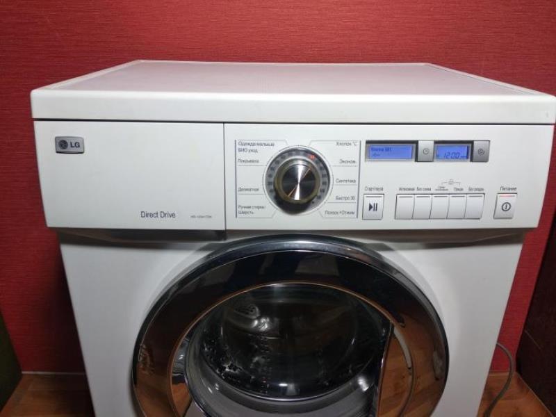 стиральная машина LG с прямым приводом для дома