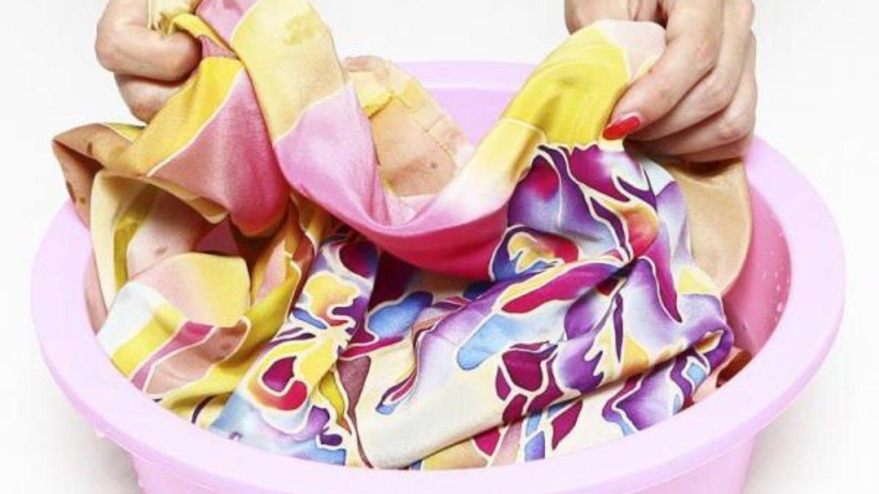 стирка цветного белья