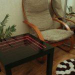 стол с эффектом бесконечности в зале