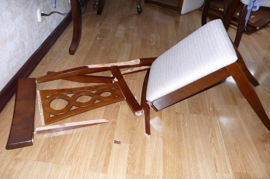 детали стула мелкие