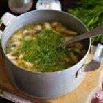 суп остывает