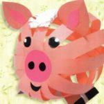 свинка из бумаги идеи фото