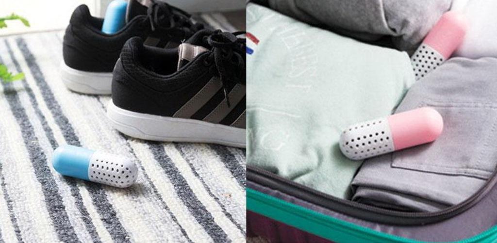 освежающие таблетки для обуви