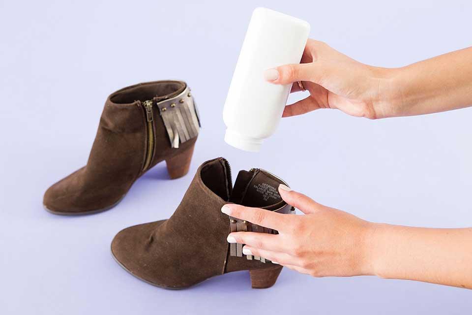тальк для обуви