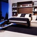 кровать-трансформер черная