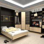 кровать-трансформер красивая
