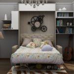 кровать-трансформер в квартире