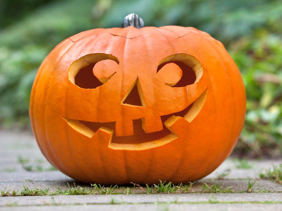 тыква на halloween