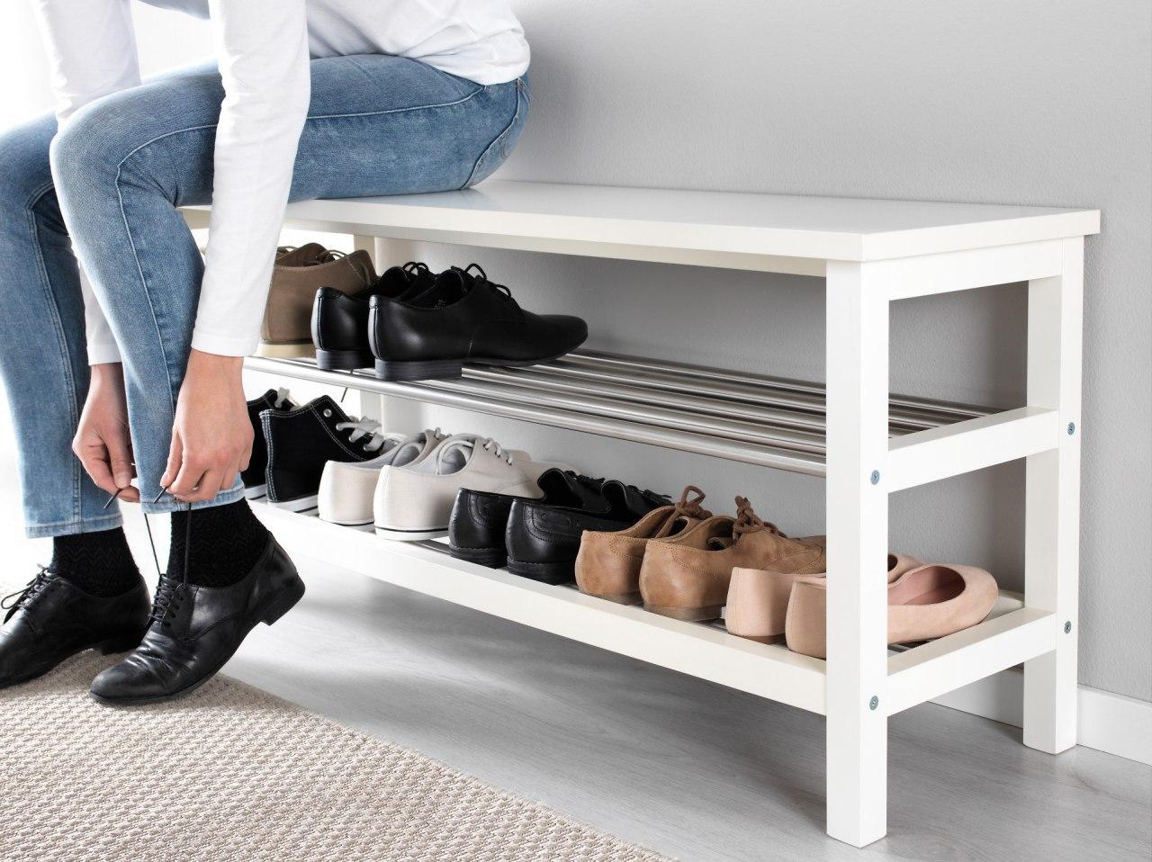 удобное место для хранения обуви