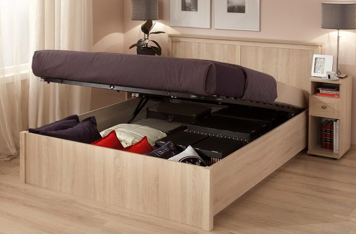 удобство кровати с выдвижными ящиками