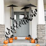 украшение дома на хэллоуин интерьер фото
